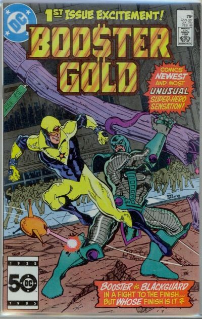 Booster Gold #1 cgc