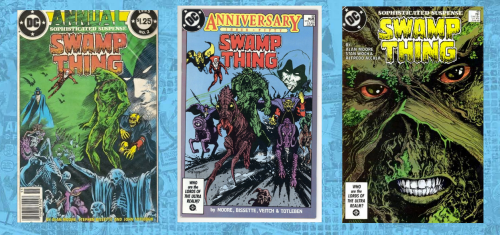Swamp Thing 49 59 annual 2