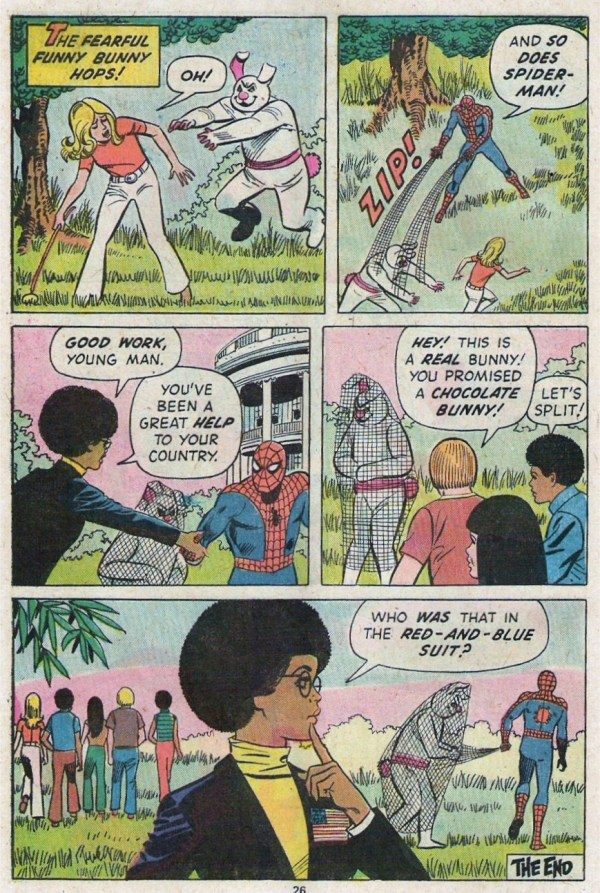 Spidey Fights the Funny Bunny 6