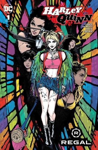 Harley Quinn #1 Regal Variant