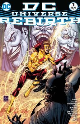 DC Universe Rebirht #1 Fourht Print