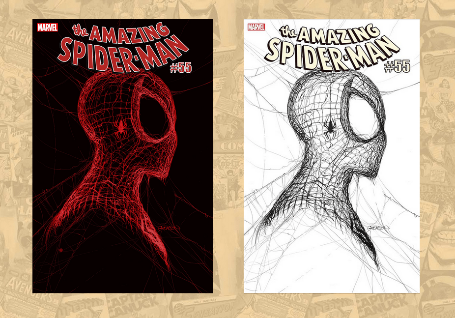 Amazing Spider-Man #55 Second Print and Second Print Ratio Variant