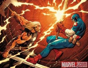 Frank Cho - Thor - Captain America