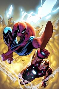 humberto ramos - Spider-man - Iron Man