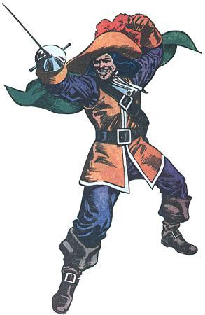 DC Villains: Cavalier (Mortimer Drake)