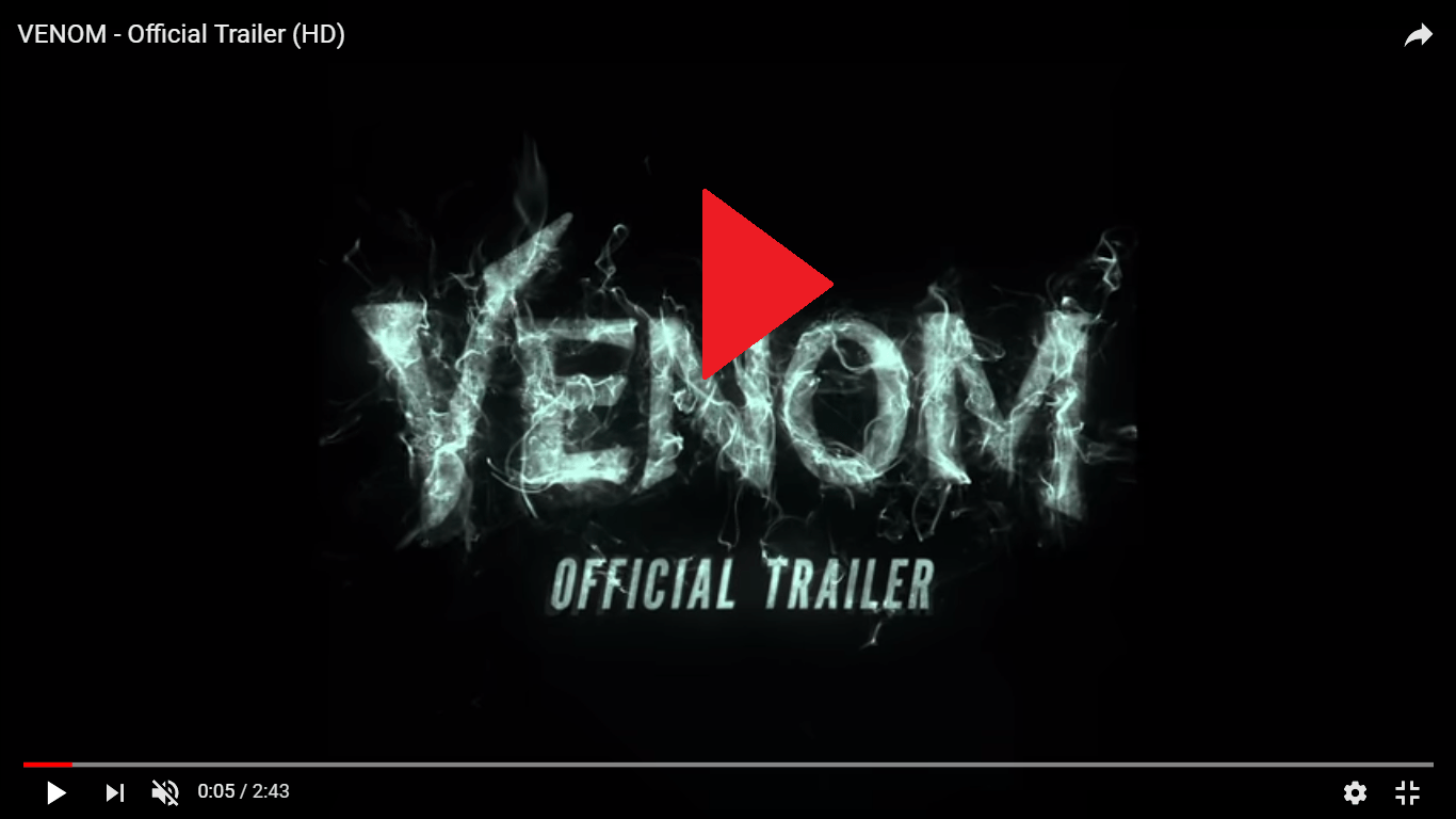 New Venom Trailer