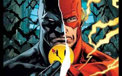 Batman/Flash 'The Button' crossover