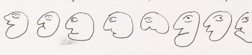 """""""Er zeichnet genau wie er schreibt"""""""