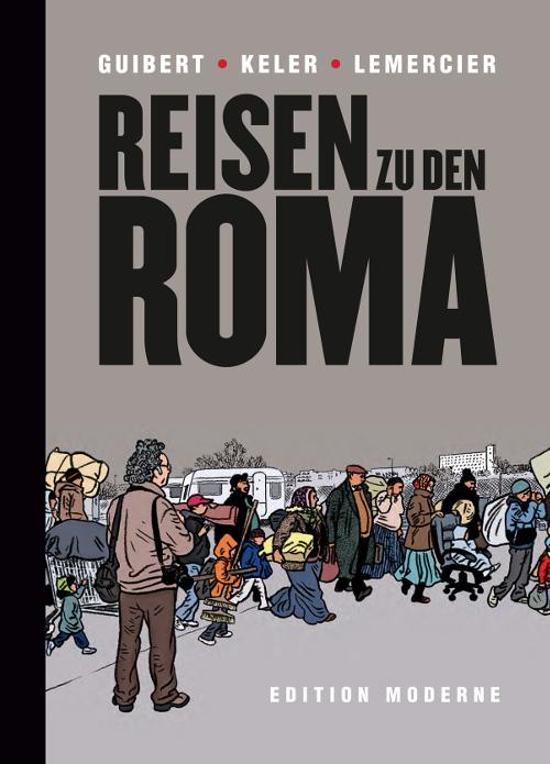 Reisen zu den Roma - Titelseite
