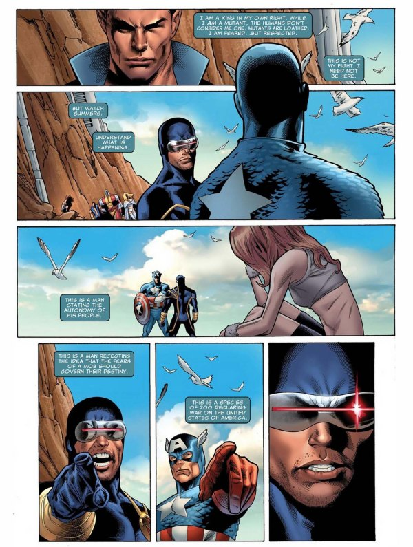 why namor admires cyclops 2