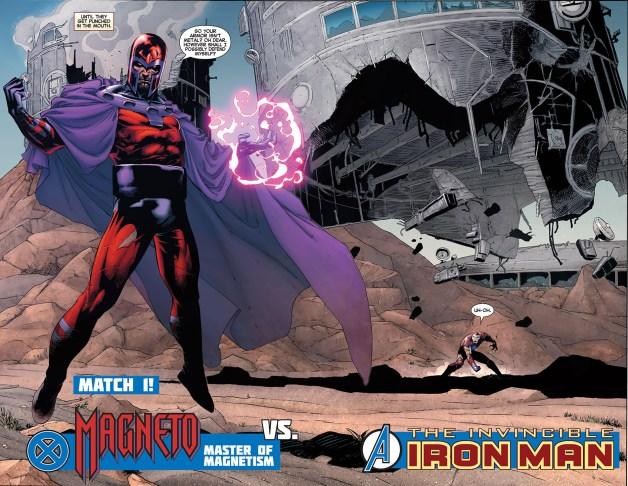 magneto vs iron man