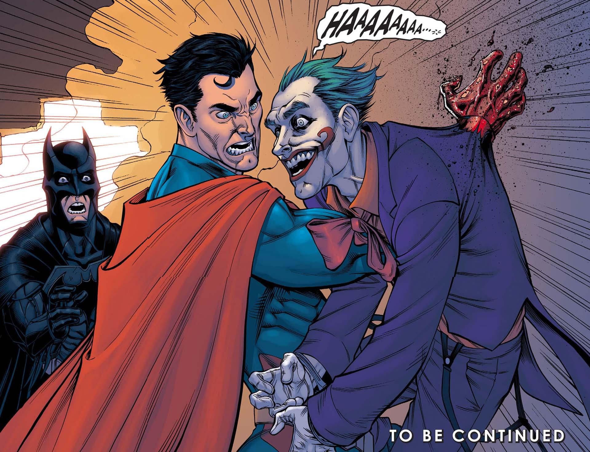 Superman Kills The Joker – Comicnewbies