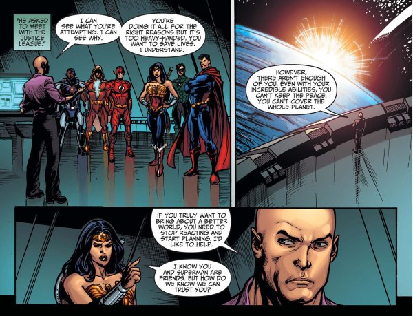 lex luthor joins