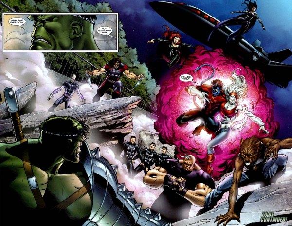 uncanny-xmen and x-factor vs the hulk
