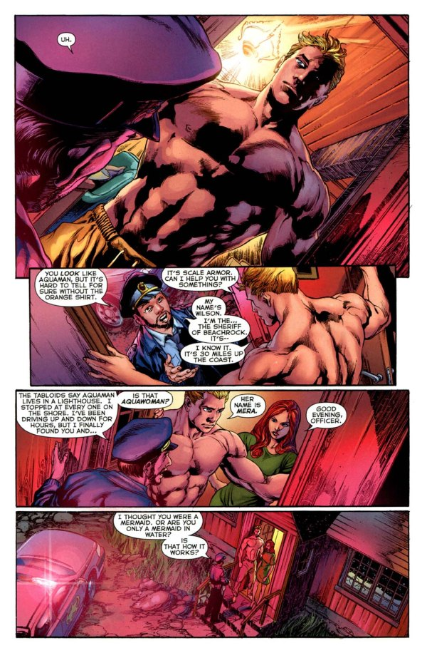 mera is not aquawoman