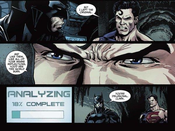 superman thinks batman is crazy 2