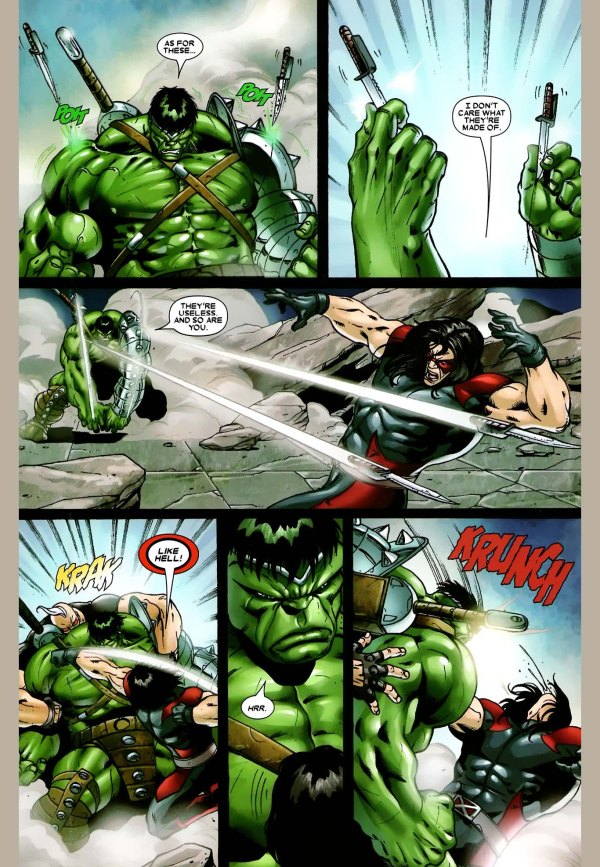 x-factor vs the hulk 3