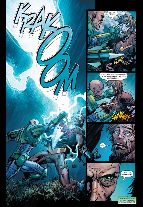 How Lex Luthor Defeated Alexander Luthor 3