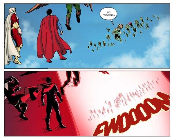 superman attacks the green lantern corps 4