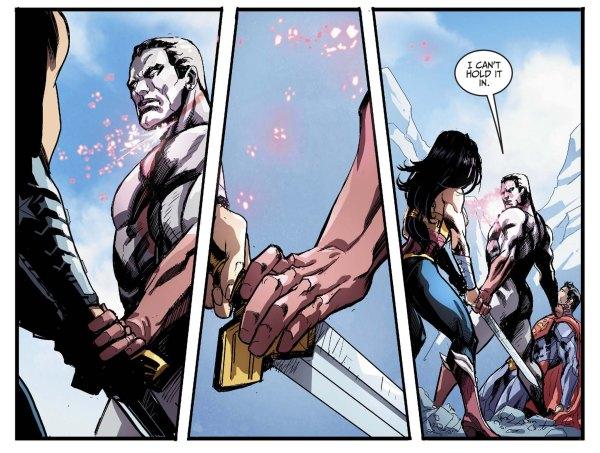 wonder woman kills captain atom 2