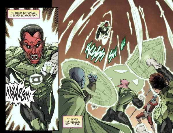 green lantern corps arrests sinestro 2