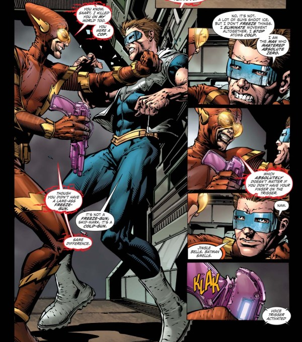 How Captain Cold Defeated Johnny Quick