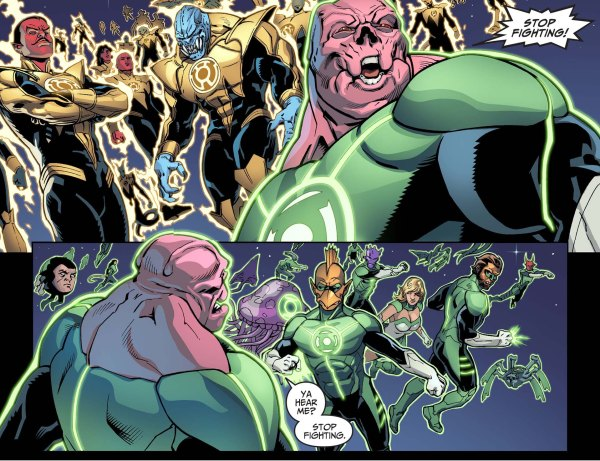 kilowog surrenders