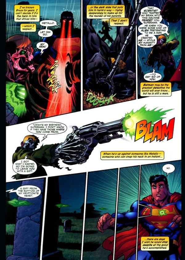 superman and batman vs metallo 2