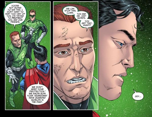 guy gardner parleys with superman 3