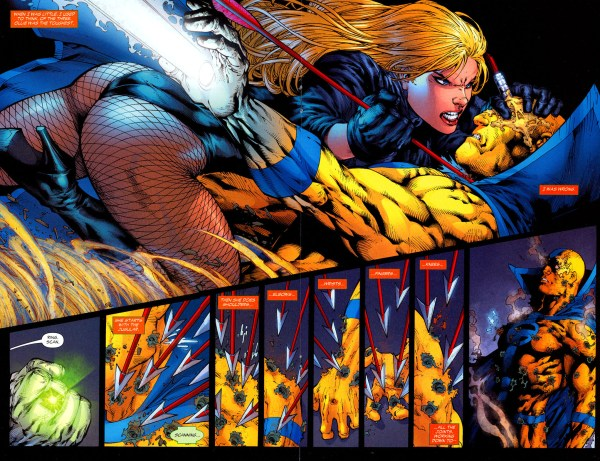 how brutal black canary can be 2