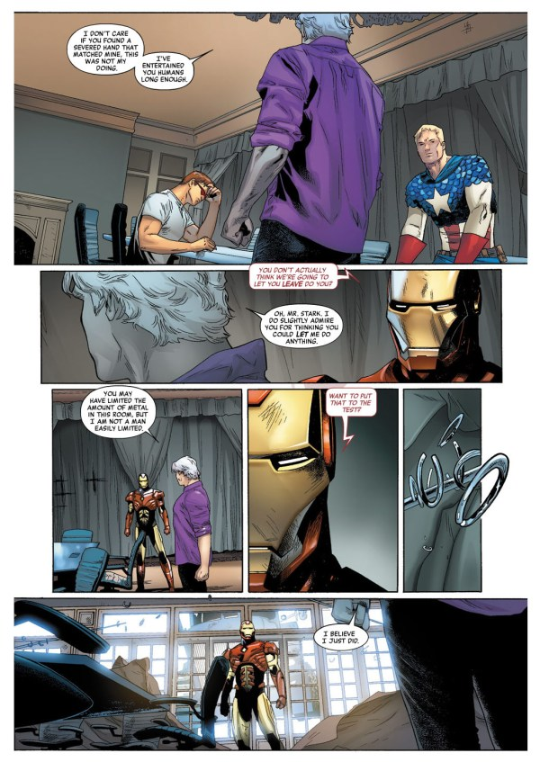 iron man and magneto standoff 1
