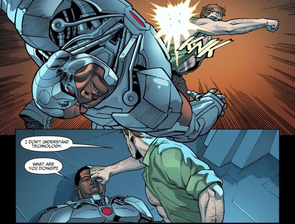 jim gordon vs cyborg 3