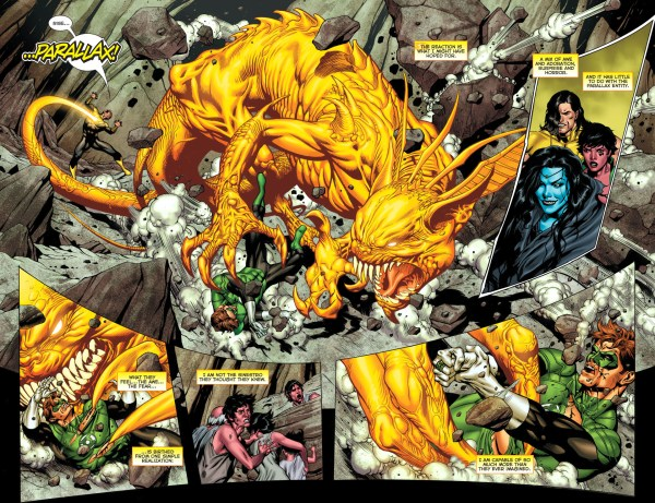 sinestro's complete mastery of parallax 1