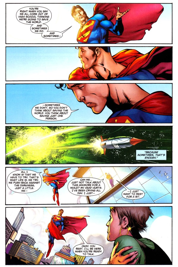 superman's opinion on suicide 3