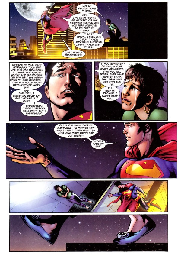superman's opinion on suicide 5