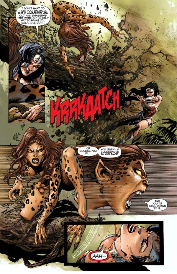 wonder woman vs the cheetah 4