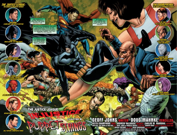 justice league vs doom patrol 1