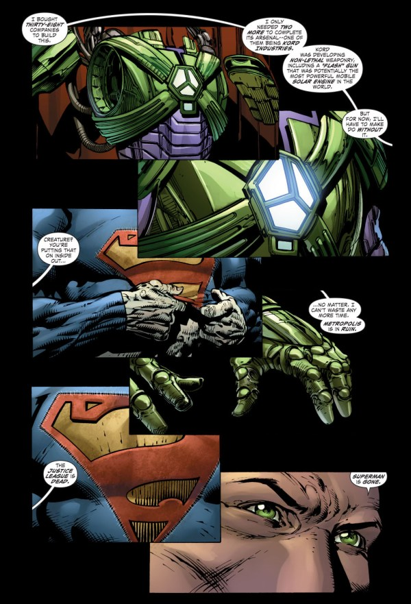 lex luthor's armor
