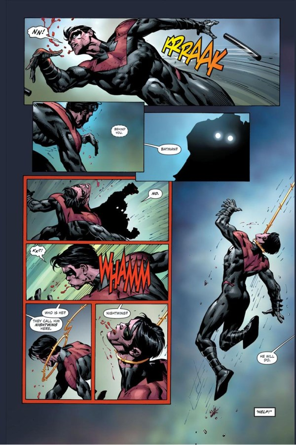 nightwing vs owlman and super woman 2