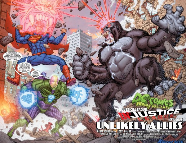 superman and lex luthor vs gorilla grodd