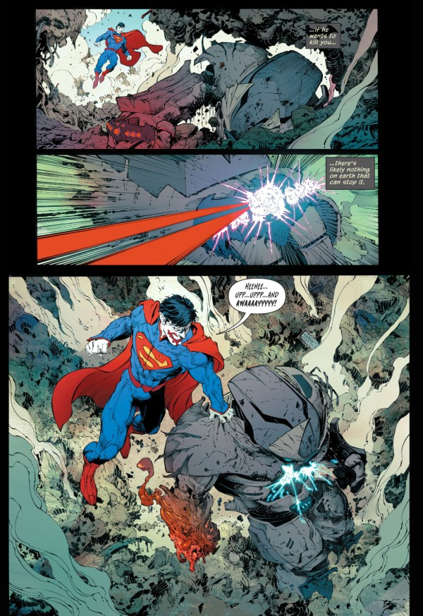 Batman's Justice Buster Suit VS Superman