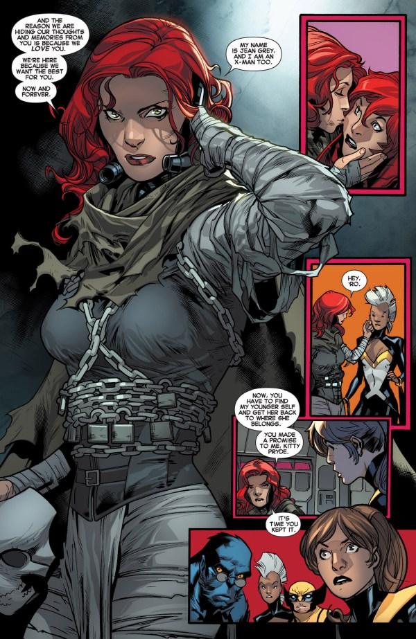 future xorn reveals her identity