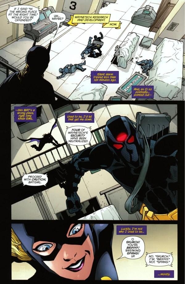batgirl vs the insider