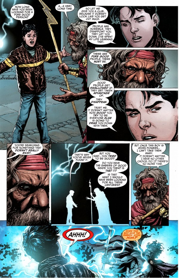 billy batson is tested by the wizard