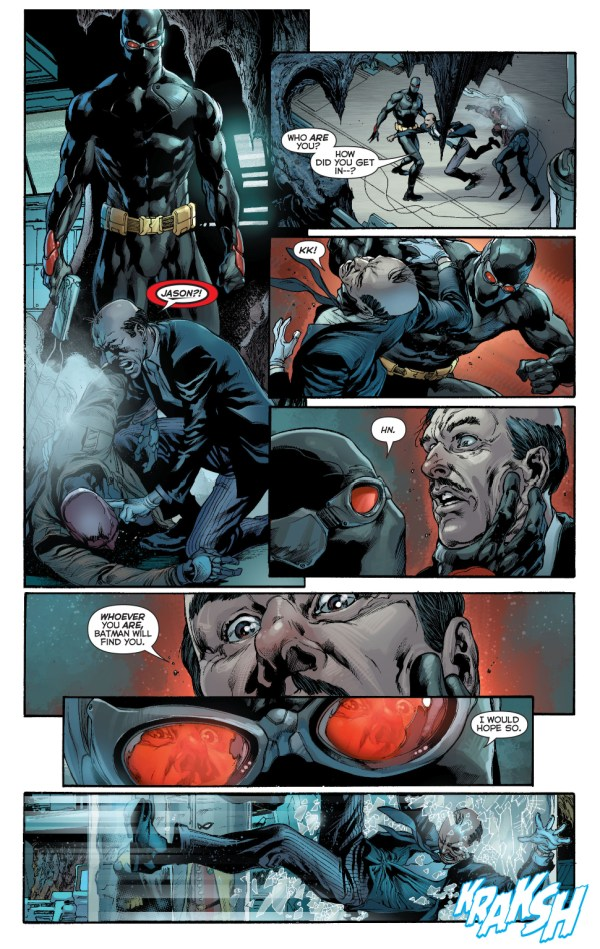the outsider infiltrates the batcave