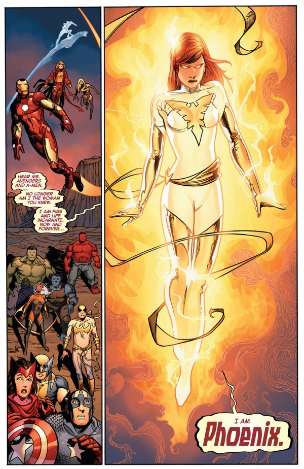 hope summers as the phoenix