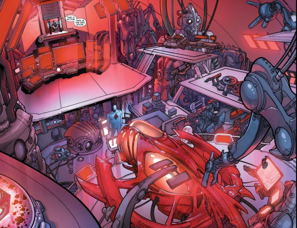 the red room (new 52)