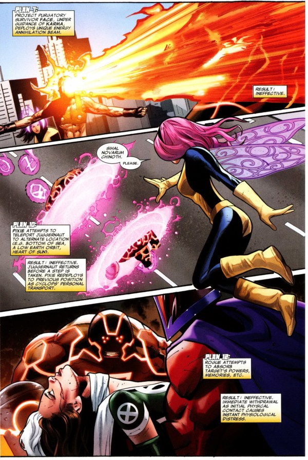 the x-men tries to stop kuurth