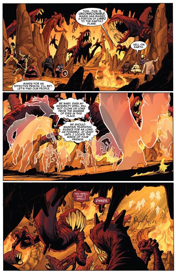 where the phoenix five kept their captive avengers