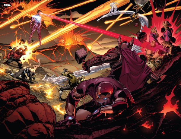 dark phoenix cyclops vs the avengers and x-men